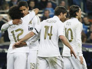 Gol de Marcelo con el Real Madrid