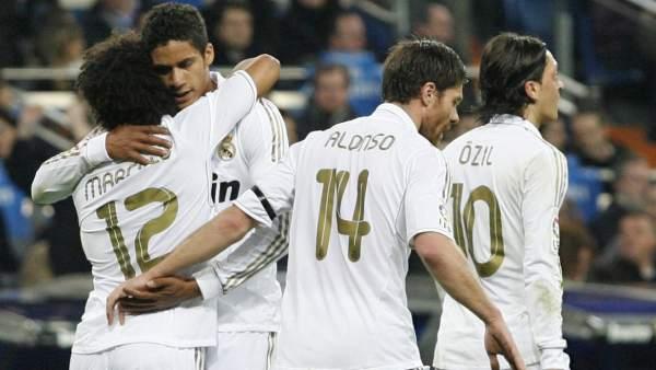 Gol de Marcelo con el Real Madrid