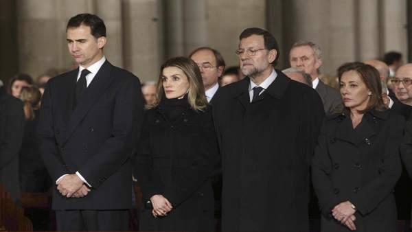 Misa funeral por Fraga