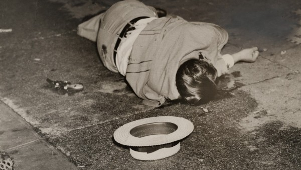 'Body of Dominick Didato, Elizabeth Street, New York, August 7, 1936