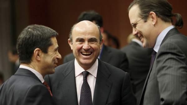 Luis de Guindos, en el Ecofin