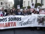 Sevilla recuerda a Marta del Castillo