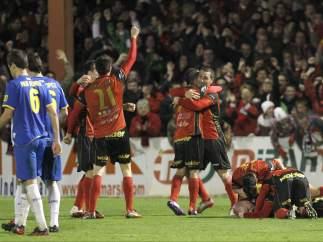 El Mirandés elimina al Espanyol