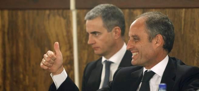 Francisco Camps y Ricardo Costa