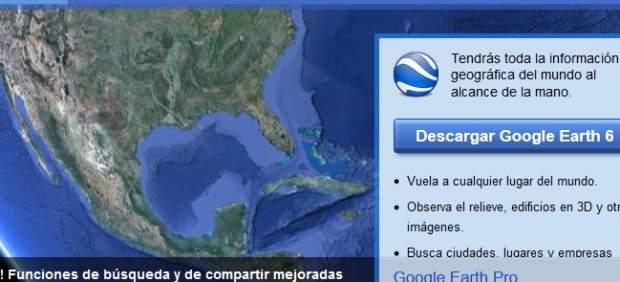 Ya está disponible la nueva versión de Google Earth
