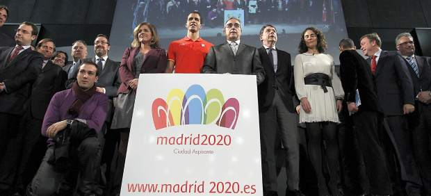 Logotipo de Madrid 2020
