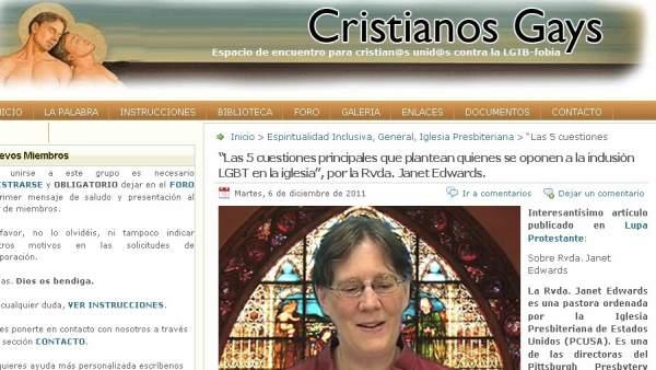 Web de cristianos gays