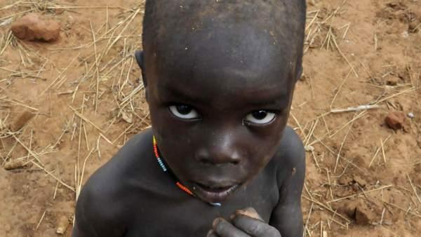 Un millón de niños africanos están en peligro de morir de