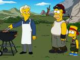 Julian Assange, en 'Los Simpson'