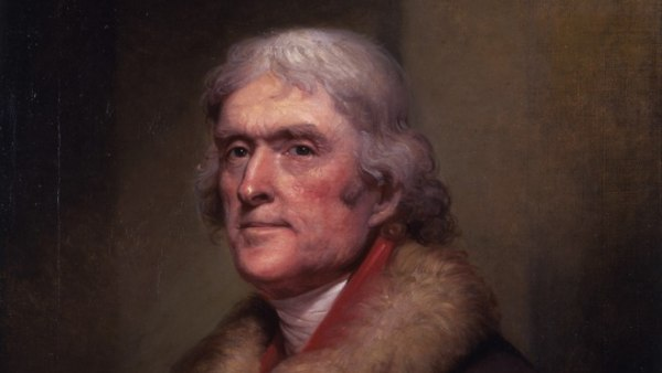 Thomas Jefferson - 'Peale portrait'