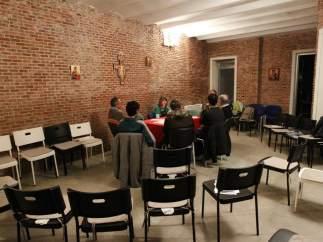 Reunión en la asociación de Crismhom