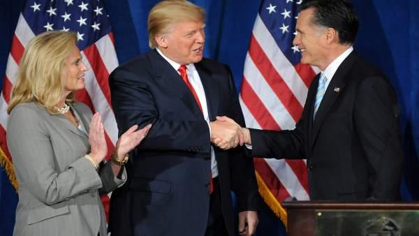 Romney y Trump