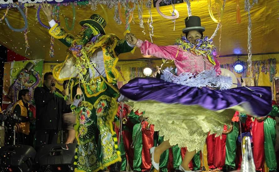 Bolivia comienza su carnaval
