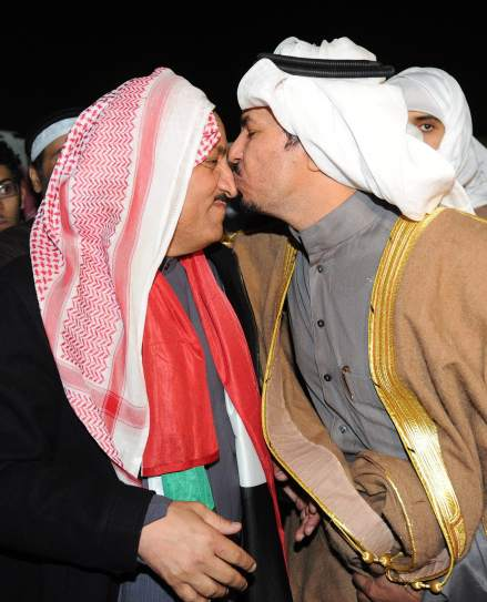 Islamitas celebran victoria en Kuwait