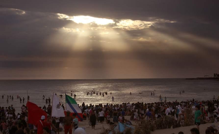 Uruguay festeja el culto a Yemanjá