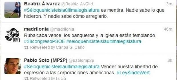 Los tuiteros optan por la sorna para criticar el 38 Congreso del PSOE