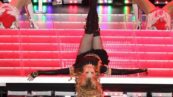Las piruetas de Madonna en la Super Bowl
