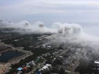 Tsunami de nubes en Florida