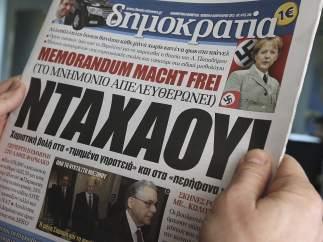 La prensa, crítica con la canciller alemana