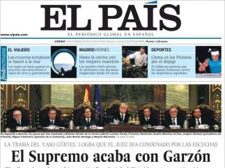 Garzón en El País