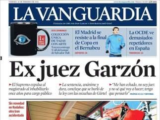 Garzón en La Vanguardia
