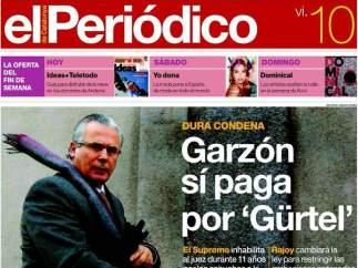 Garzón en El Periódico