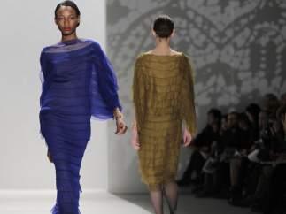 El japonés Tadashi Shoji, en la Semana de la Moda de Nueva York