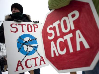 Contra el tratado ACTA