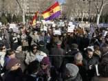 Manifestación de apoyo a Garzón
