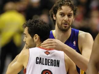 Calderón y Pau Gasol