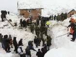 Avalancha de nieve en Kosovo