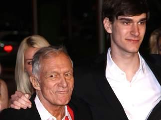 Marston y Hugh Hefner