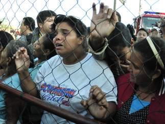 Al menos 350 muertos en el incendio de una cárcel de Honduras