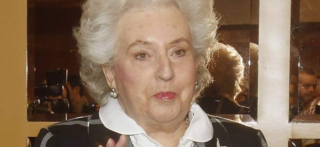 La infanta Pilar de Borbón