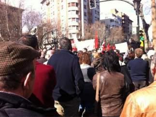 Zaragoza, contra la reforma laboral