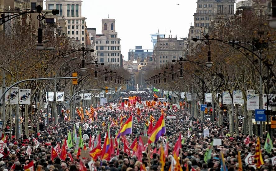 Barcelona, abarrotada