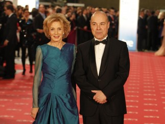 Marisa Paredes y Antonio Resines