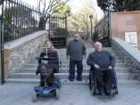 Personas con discapacidad.