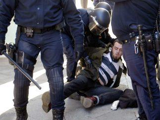 Disturbios en Valencia