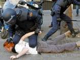 Protesta estudiantil en Valencia