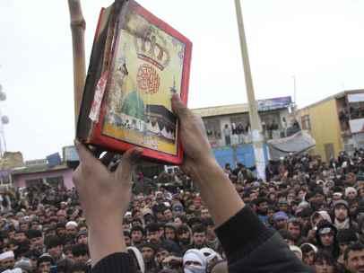 Protesta afgana contra la supuesta quema de un Corán