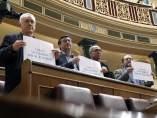 Carteles en el Congreso