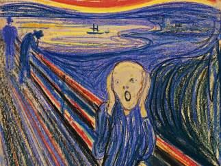 'El grito', de Munch