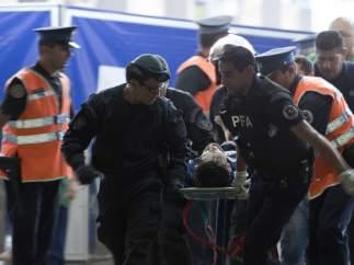 Accidente de tren en Buenos Aires