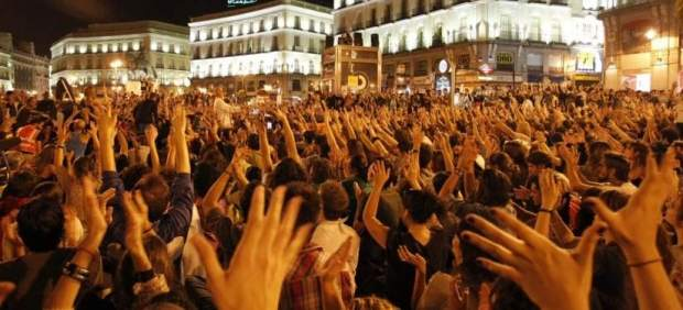 La �ltima gran manifestaci�n del 15-M
