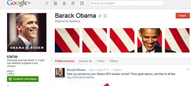 Los internautas chinos 'ocupan' la página de Obama en Google+