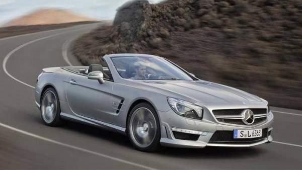 Nuevo Mercedes SL 63 AMG,