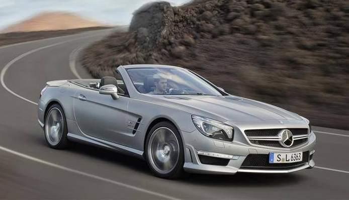 Mercedes benz lanzar en mayo el nuevo sl 63 amg un for Mercedes benz deportivo