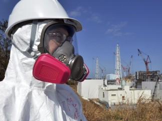 Periodistas extranjeros en Fukushima