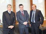 Villar, Cardenal y Platini